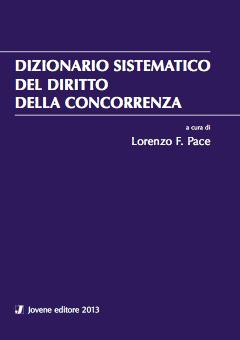 Dizionario sistematico del diritto della concorrenza