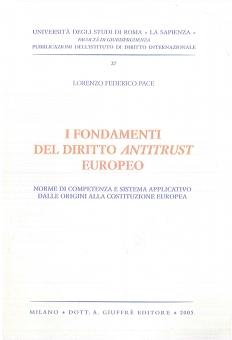 I Fondamenti del diritto antitrust - copertina